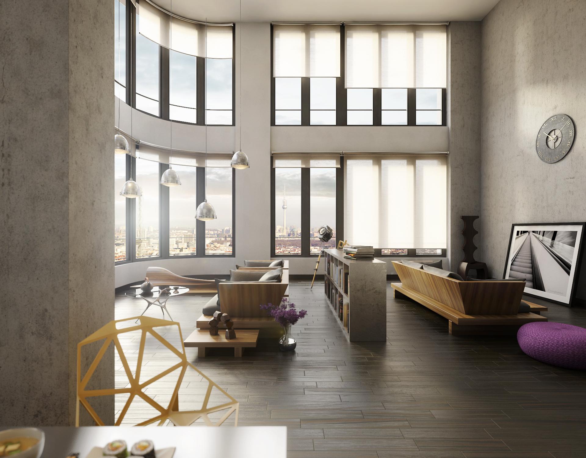 architekturrenderings als high end visualisierung. Black Bedroom Furniture Sets. Home Design Ideas